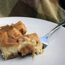 Caramel Apple Cheesecake Blondies